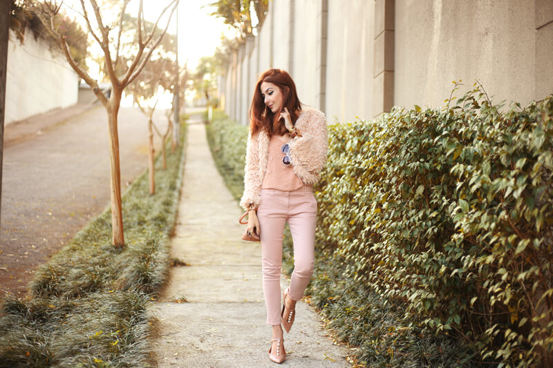 FashionCoolture - 15.07.2016 look du jour Baby Pink Monochromatic outfit (8)