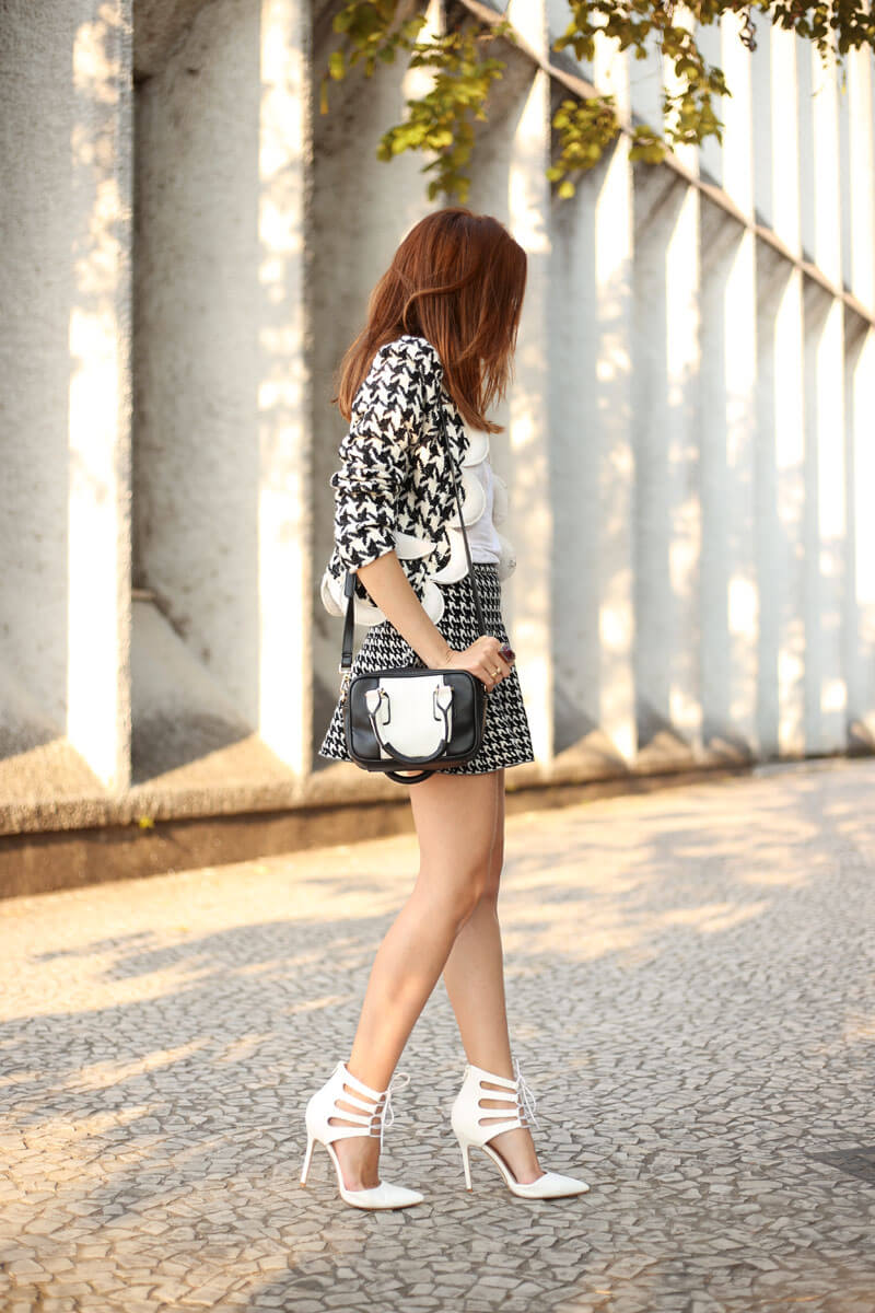 FashionCoolture - 25.07.2016 look du jour black and white pied de poule pied de coq (4)