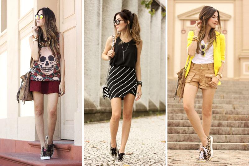 6 looks com tênis de oncinha da flávia linden blog fashion coolture