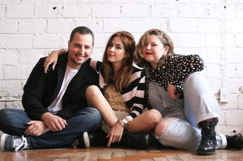 FashionColture Team - Ariadne, Flávia & Thiago .