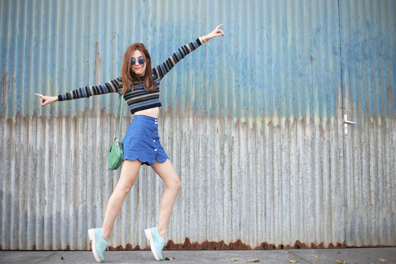 FashionCoolture - 02.08.2016 look du jour striped top scalloped skirt (3)
