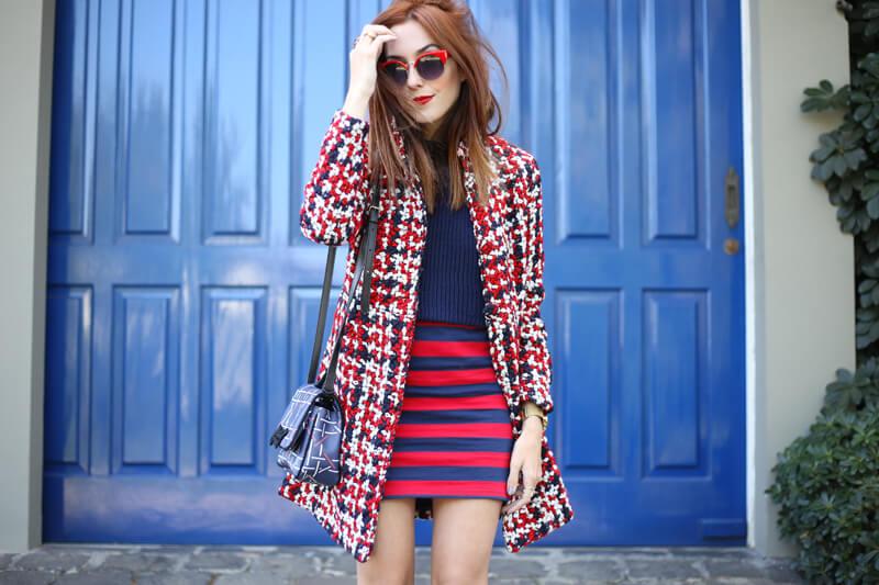 FashionCoolture - 03.08.2016 look du jour red navy blue stripes (4)