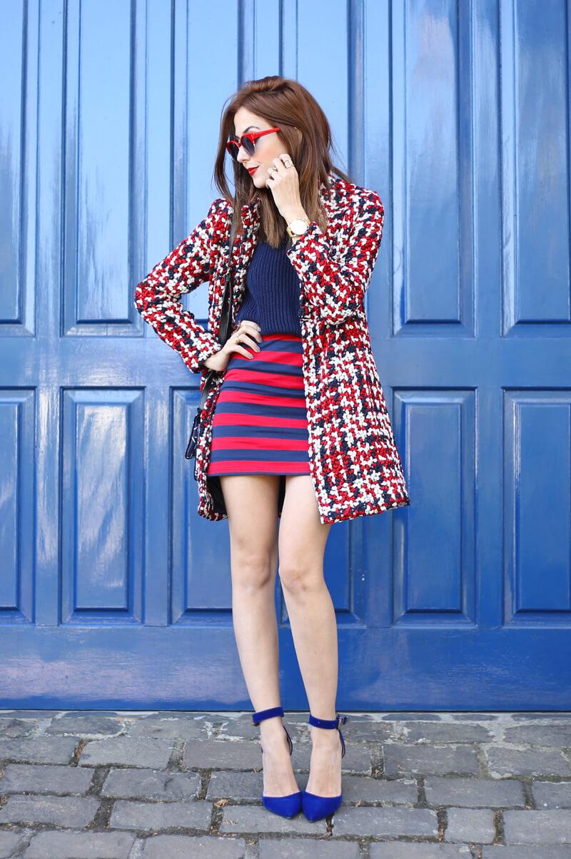 FashionCoolture - 03.08.2016 look du jour red navy blue stripes (5)