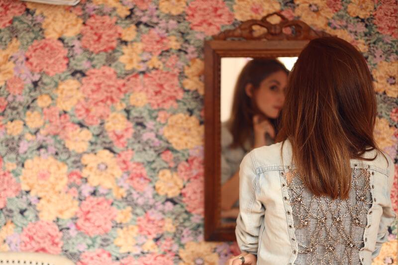 FashionCoolture - 05.08.2016 look du jour denim jacket tule skirt recollection lab (11)