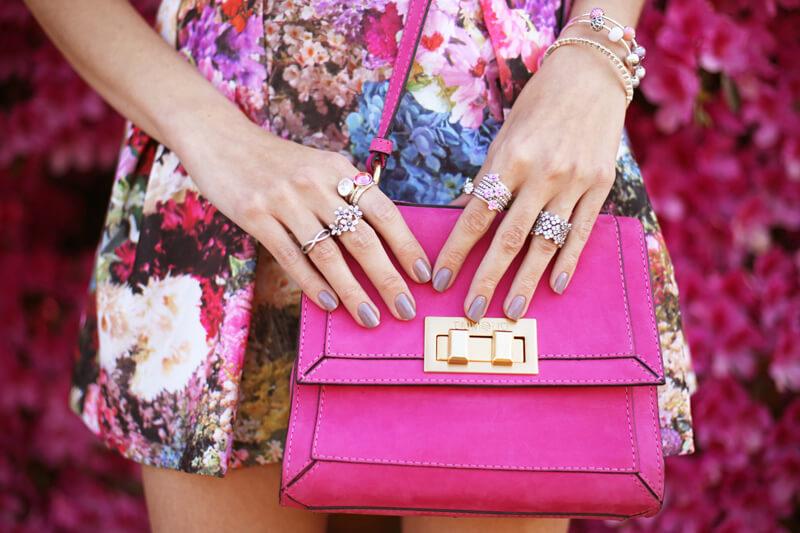 FashionCoolture - 24.08.2016 look du jour Floral Pandora jewelry rings (7)