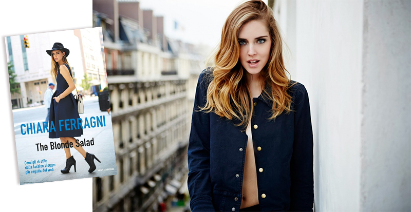 The Blonde Salad book Chiara Ferragni livros de blogueiras de moda fashion coolture