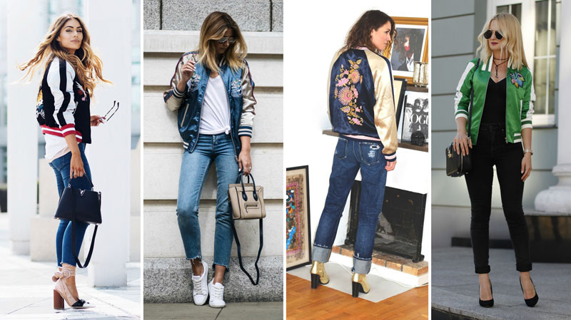 bomber jacket cetim blog fashion coolture
