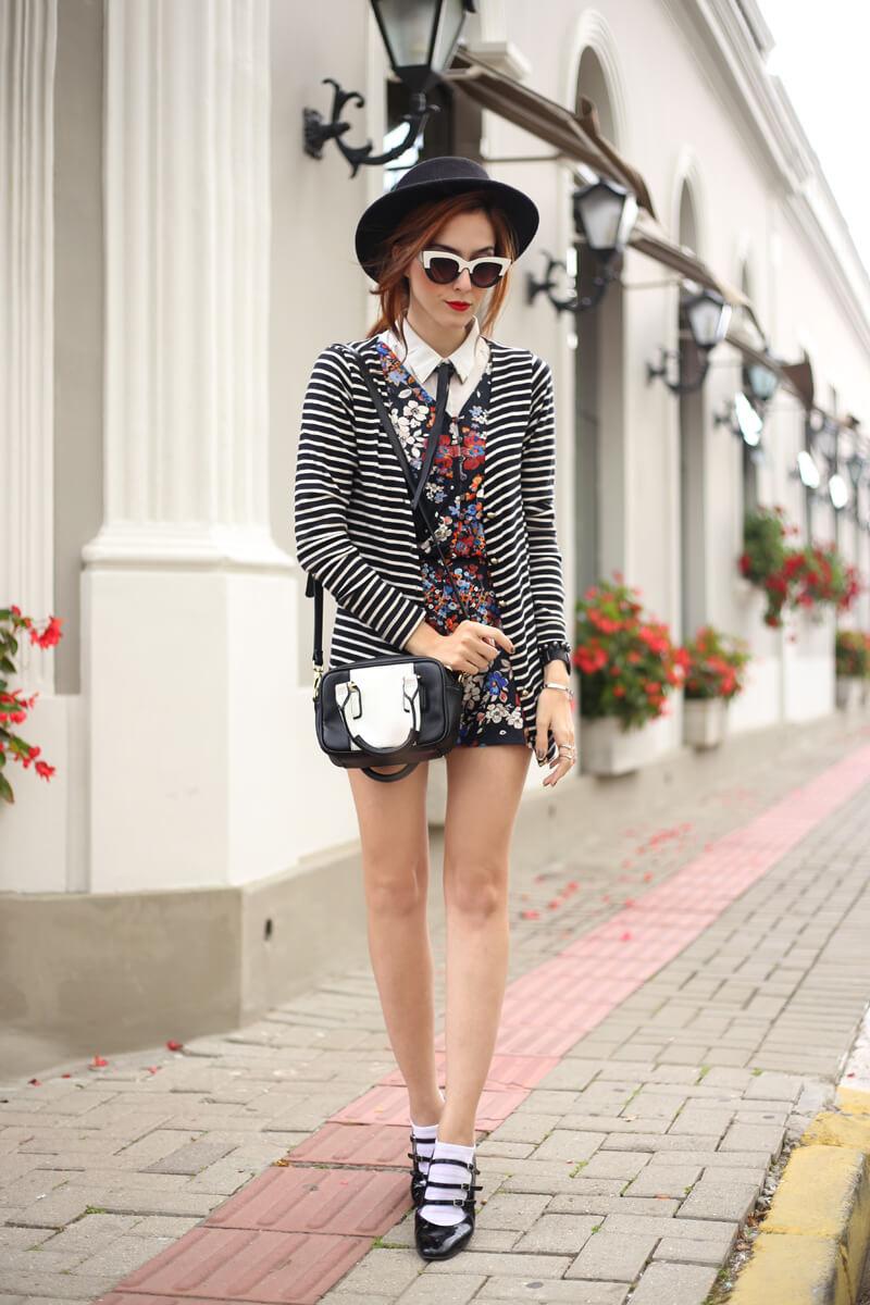 fashioncoolture-22-09-2016-look-du-jour-mix-of-prints-floral-and-stripes-7 preppy look