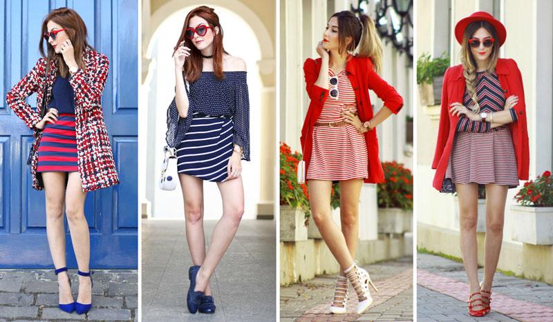 como usar listras coloridas fashioncoolture
