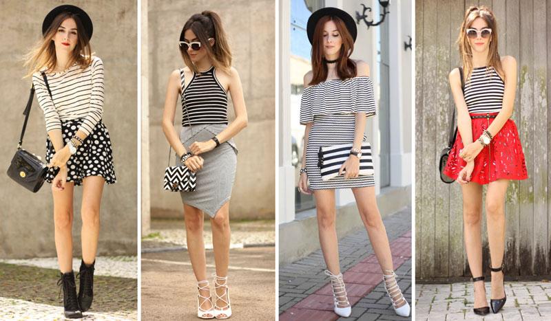 listras além do básico outfit blog FashionCoolture