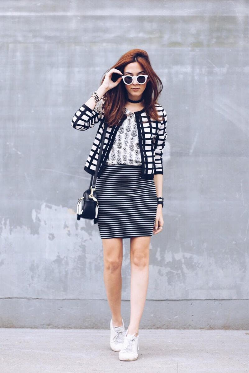 fashioncoolture-03-10-2016-look-du-jour-b&w mix of-prints-shoulder-6