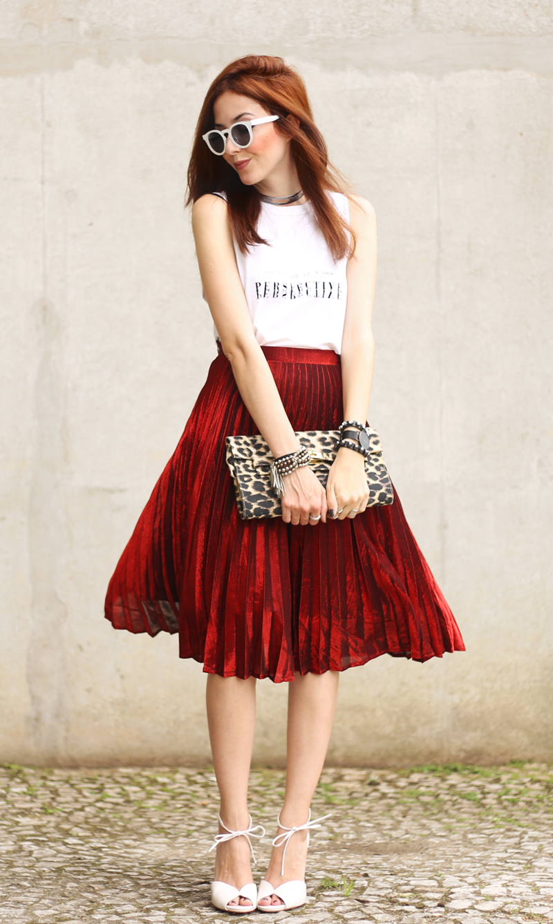 fashioncoolture-pleated-midi-skirt