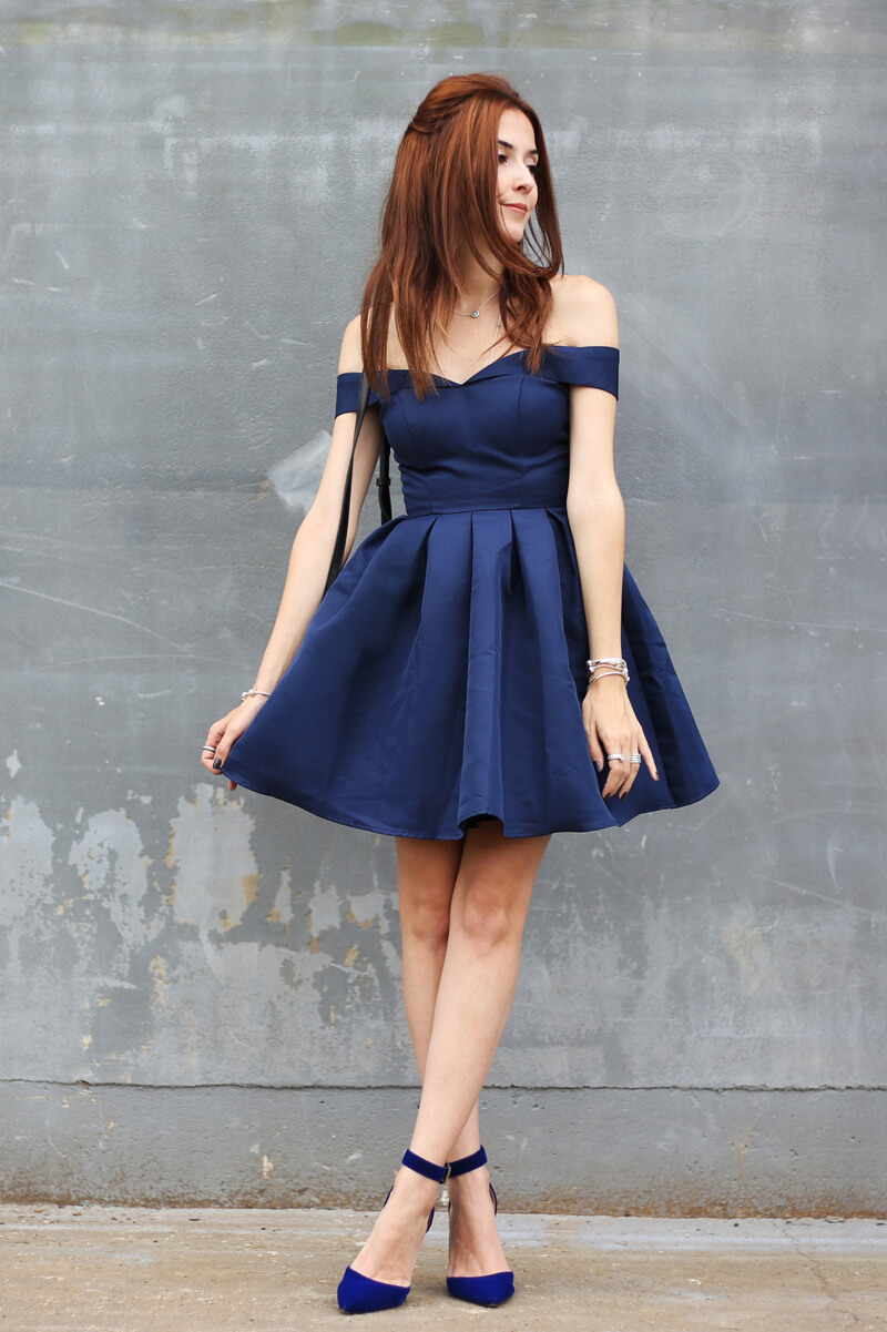 fashioncoolture-28-11-2016-look-du-jour-chi-chi-london-navy-blue-skater-dress1
