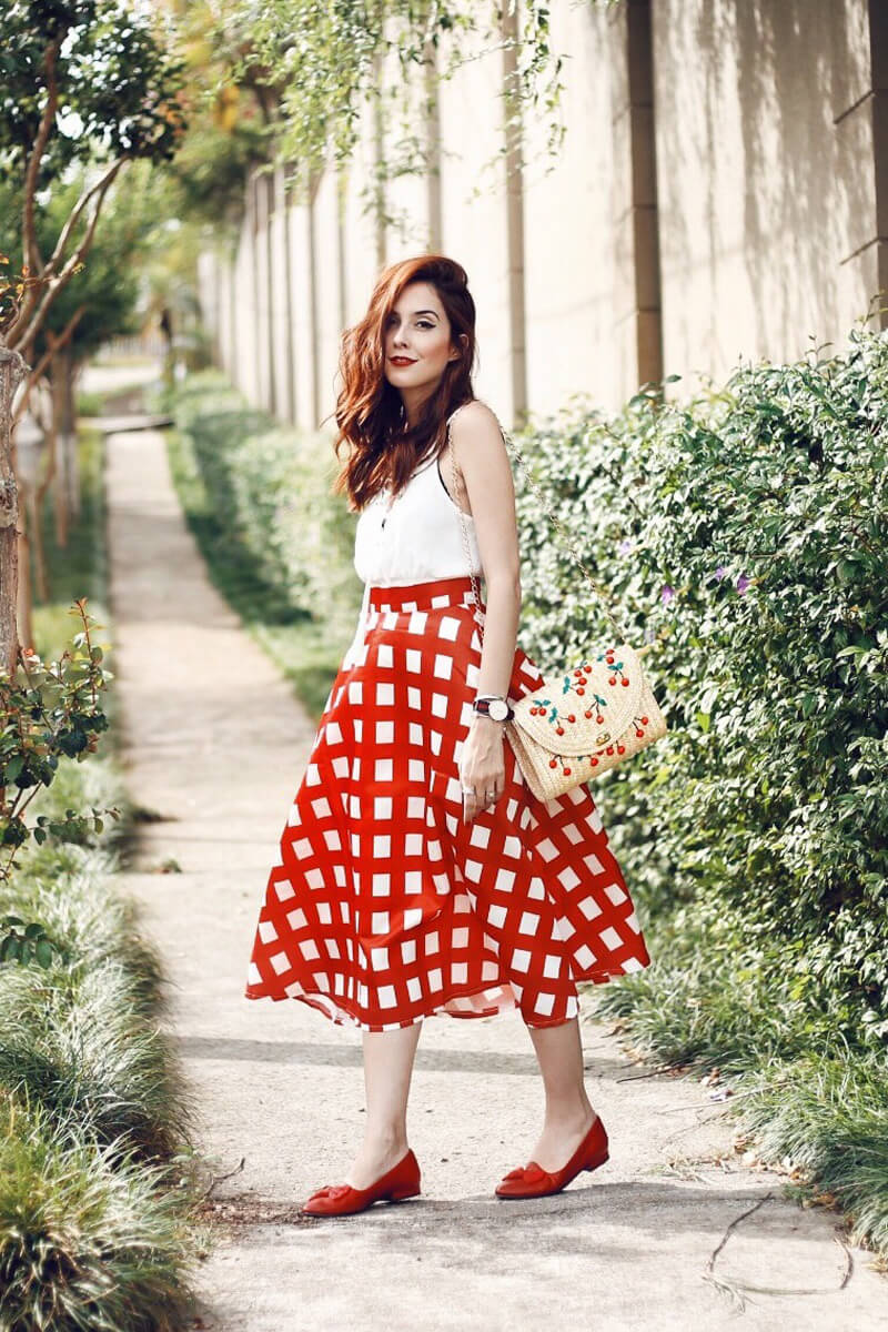 fashioncoolture-07-12-2016-look-du-jour-red-plaid-midi-skirt-1
