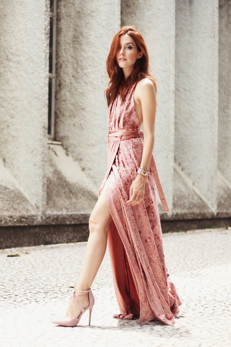 fashioncoolture-14-12-2016-blush-pink-velvet-dress-5 blush Velvet Dress