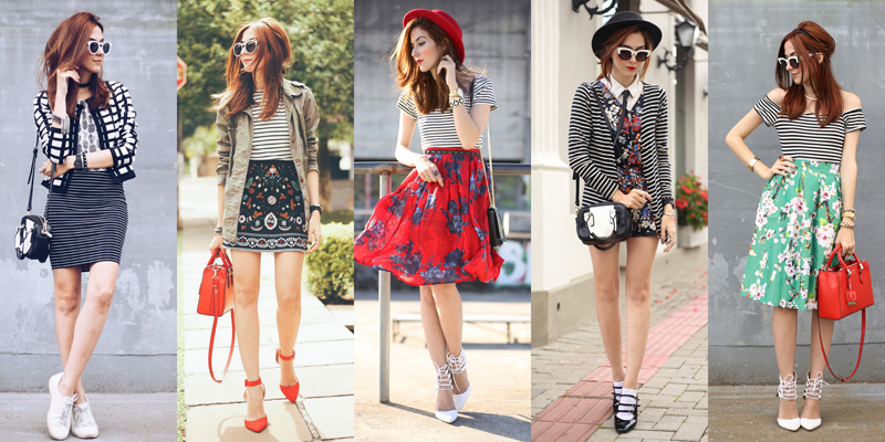 fashioncoolture-mix-of-prints-stripes
